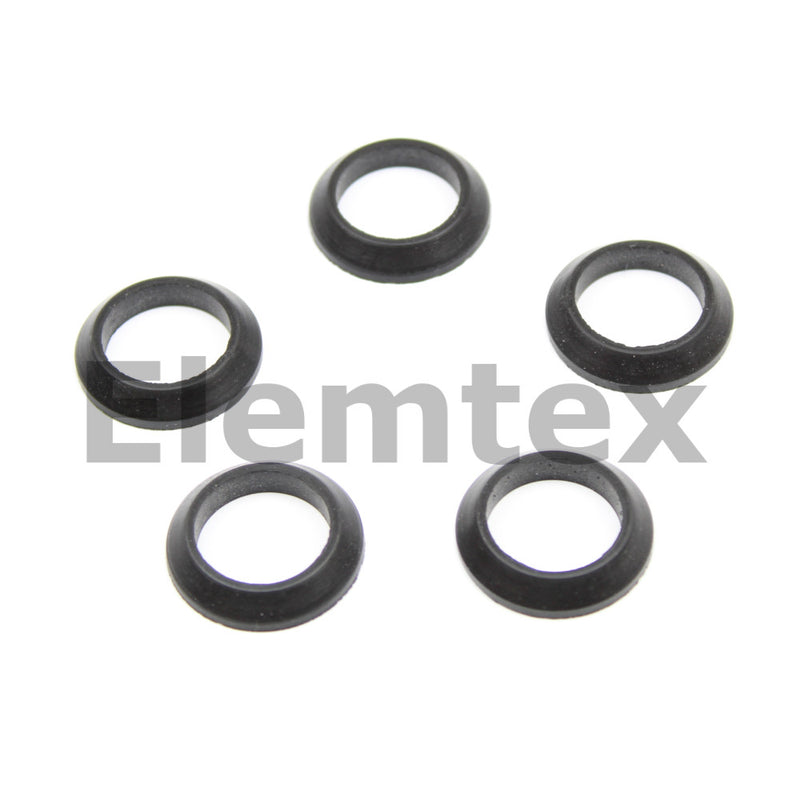OR51241, Seal Viton Rubber Chamfered Square Profile for 18mm tubes