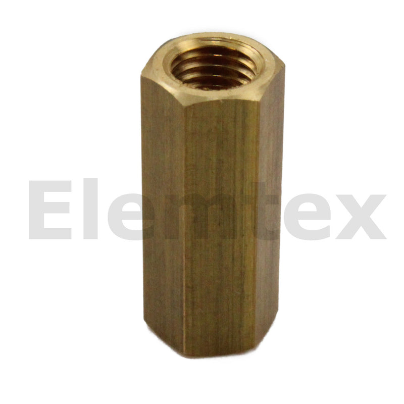 PS1002, Tubing Coupling 2mm Brass, 34739133