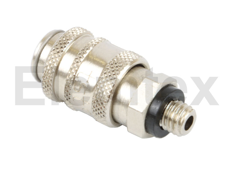 PS1004, Quick Connector, Female, M5 male thread