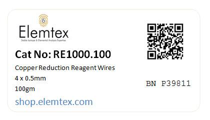 RE1000, Copper Wires Reduced 4 x 0.5mm, Fine Wires, Standard Purity