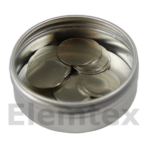 SE1503, Tin Discs 21mm, Standard Clean