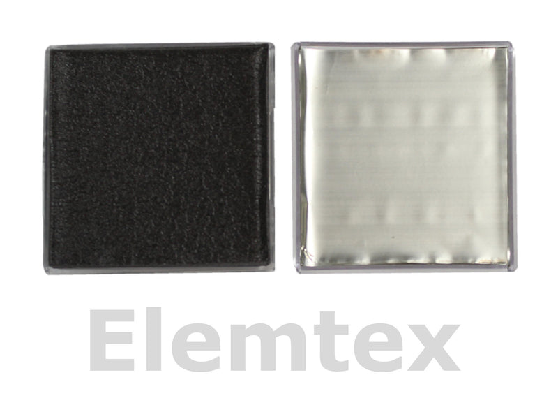 SE1510, Tin Foil Squares 37mm, Standard Clean