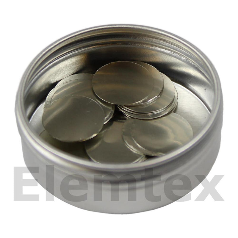SE1603, Tin Discs 21mm, Ultra Clean