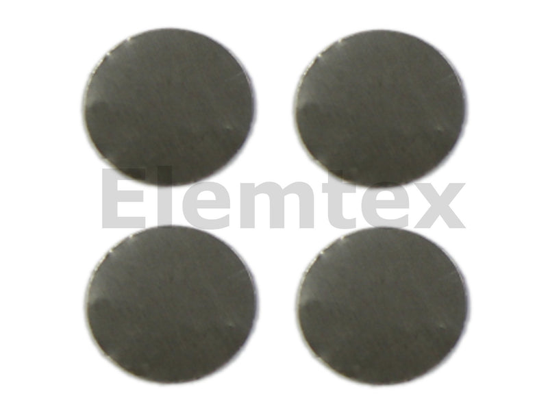 SE1604, Tin Discs 30mm, Ultra Clean
