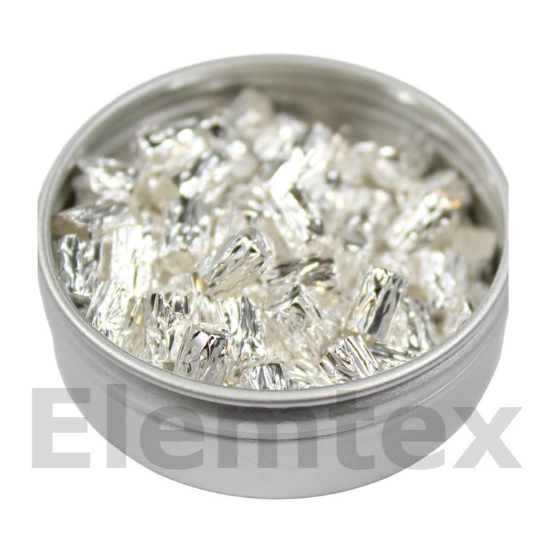 SE2001, Silver Capsules pressed 5 x 3.5mm, Standard Clean