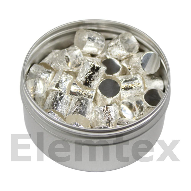 SE2005, Silver Capsules Pressed 10 x 10mm, Standard Clean