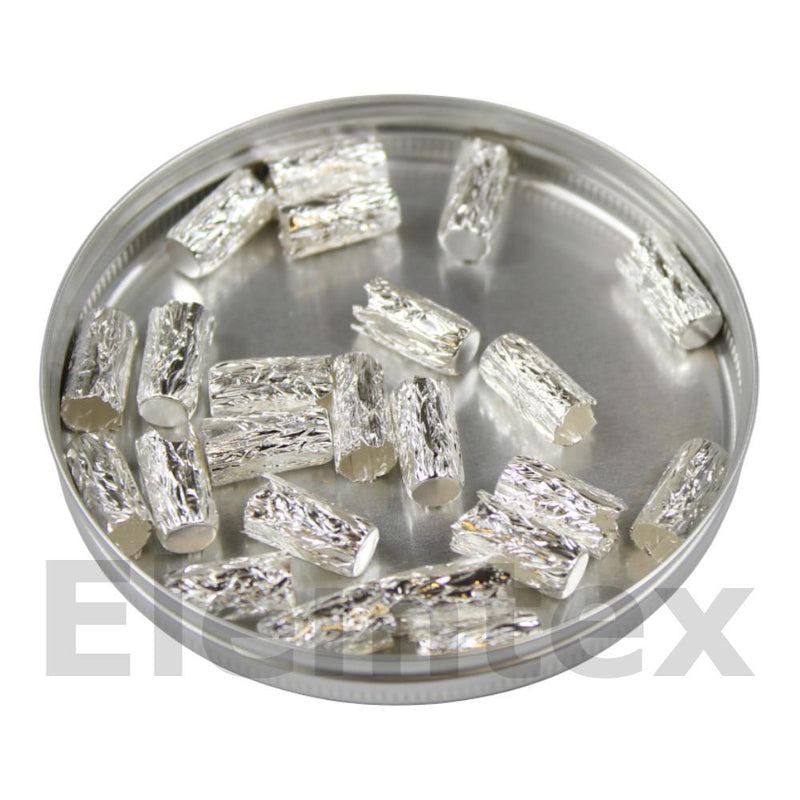 SE2106, Silver Capsules Pressed 12 x 6mm, Ultra Clean