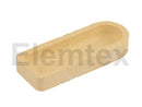 SE3800, Ceramic Combustion Boats Unglazed,  57 x 22 x 11mm, 529-204