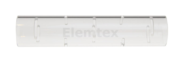 TL2002, Support Tube, quartz slitted open ends 105mm,  11.00-1317/4