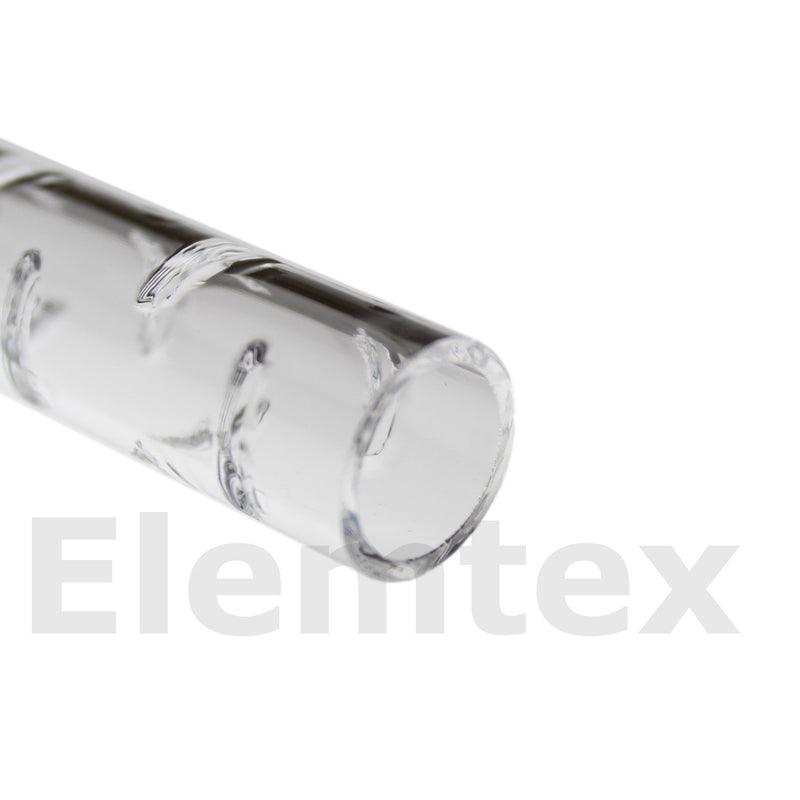 TL3001, Tube Liner quartz slitted open ends 220mm SC0687