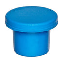Injection Septa Stopper, 20mm crimp, blue butyl rubber