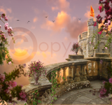 Princess Castle Digital Background