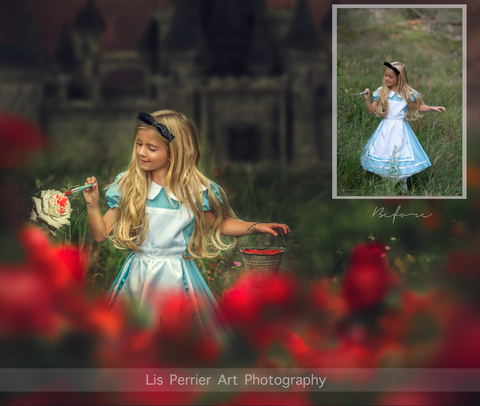 Alice in Wonderland Composite