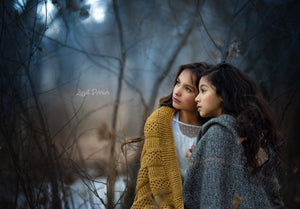 "Photoshop Artistic edit ""Winterly  ""Best Friends"""