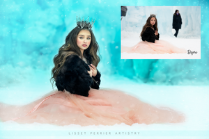 Photoshop Edit /Ice Queen /