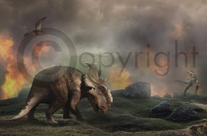 Jurassic Dino Digital background