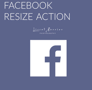 FREE Facebook Resize Action for Photoshop