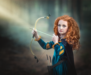 "Artistic Edit in Photoshop ""Merida"" Editing courses for Photographers"