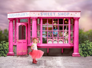 Candy Shop Digital Background