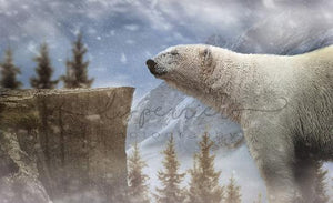 Polar bear Digital Background