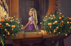 Rapunzel Digital Background