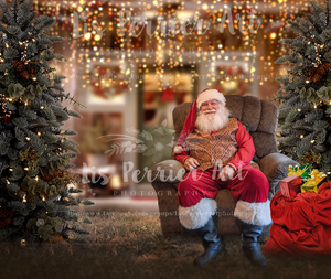 Santa Digital Background /composite