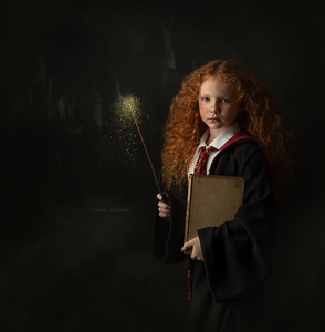 "Photoshop Artist Edit Harry Potter ""Hermione"""