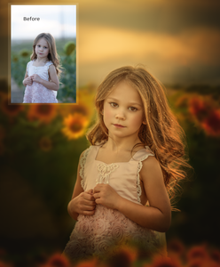 Sunflower Dreamy Tutorial mp4