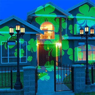 MagicLed2: the LED projector for your house, with 10 interchangeable festive motifs!