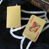 24K Gold Playing Cards With Wooden Box And Certificate