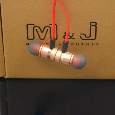 MAGNETIC BLUETOOTH SPORT EARPHONES