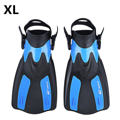 ADJUSTABLE SNORKEL/DIVING FLIPPERS
