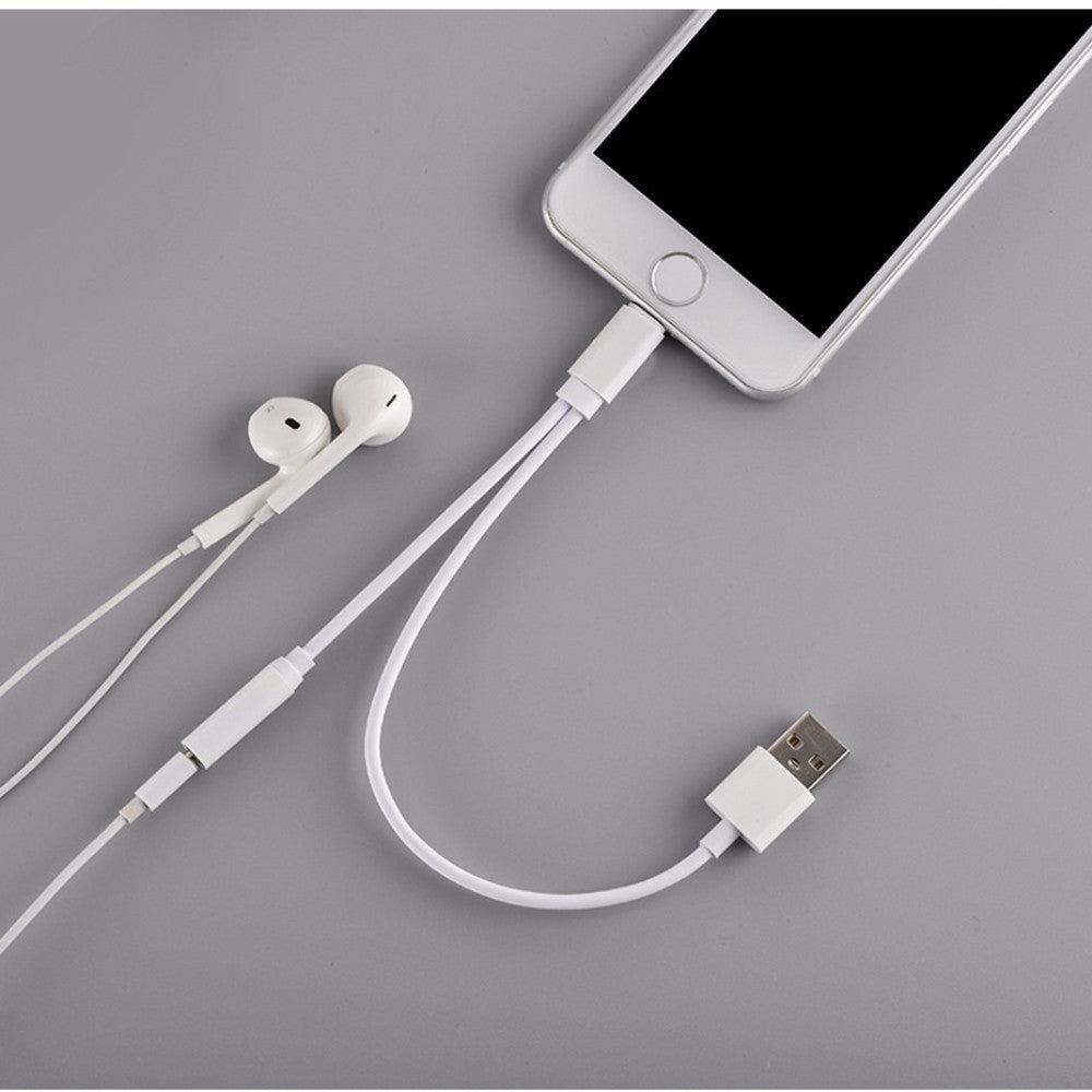 Earphone Charging Cable for iPhone 7/7 Plus - The Gadget Mole