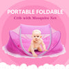 Foldable New Baby Crib