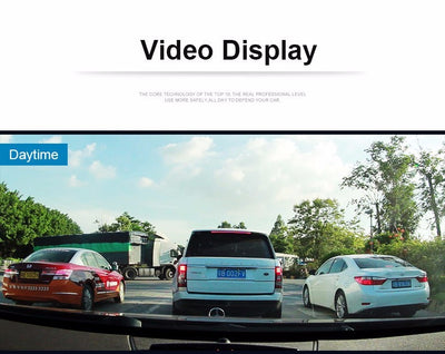 Dash Cam Pro- Car 1080P Dual Lens Dash Camera