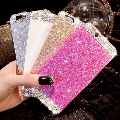 New Hot Fashion Luxury Diamond Case For iphone 6 4.7 inch Phone Cases Back Cover For apple iphone 6S case accessories