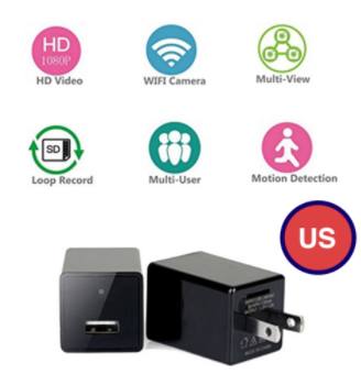 Full HD 1080p USB Charger & Security Camera