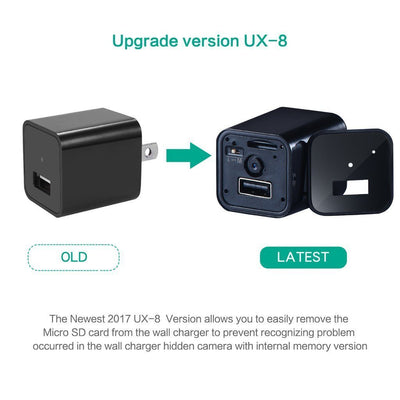 Full HD 1080p USB Charger & Security Camera - EU Plug