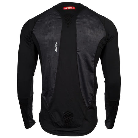 CCM Long Sleeve Compression Shirt with Grip