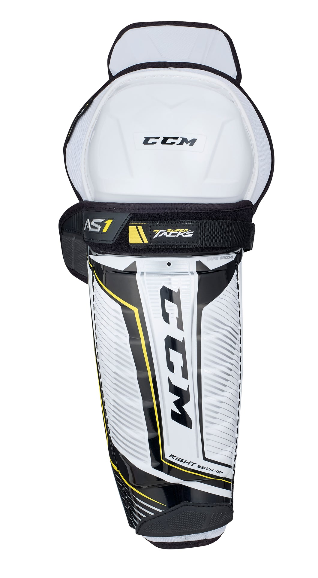 CCM Super Tacks AS1 Shin Guards - JR