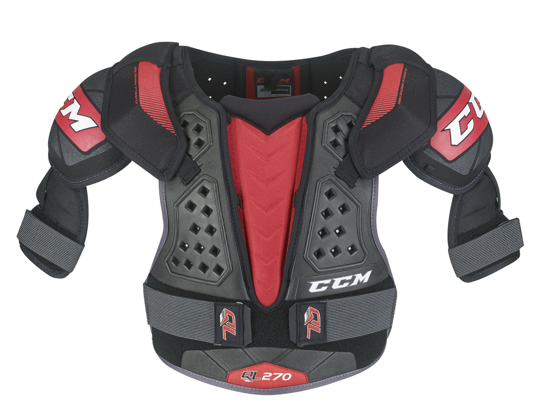 CCM QLT270 Shoulder Pads - JR