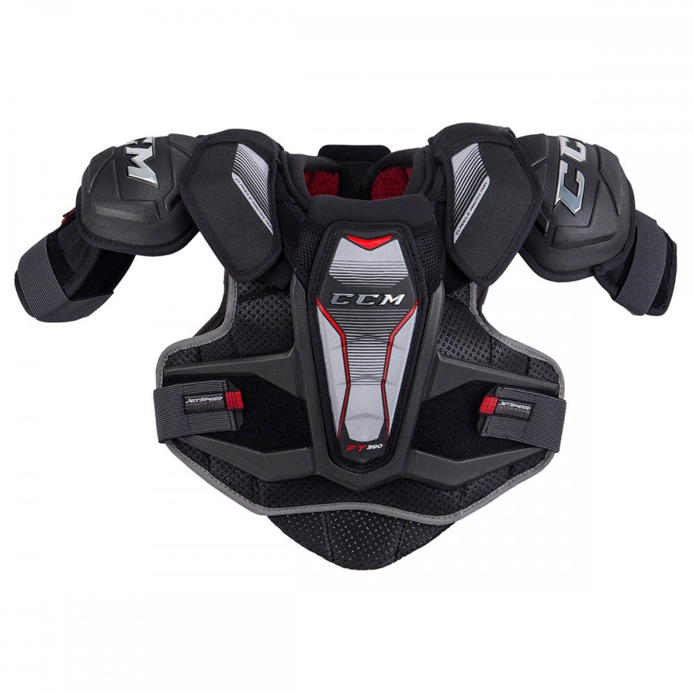 CCM Jetspeed FT390 Shoulder Pads- JR
