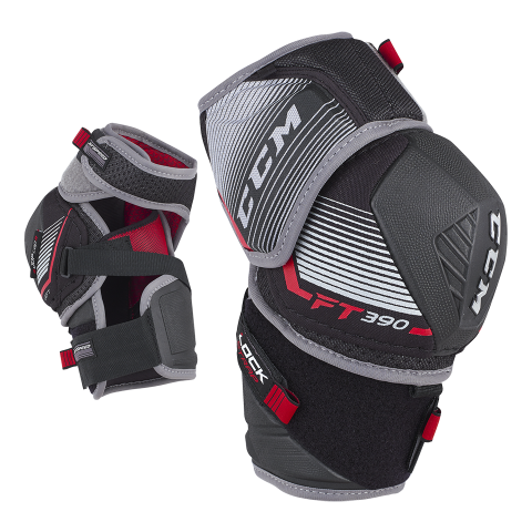 CCM Jetspeed FT390 Elbow Guards- JR