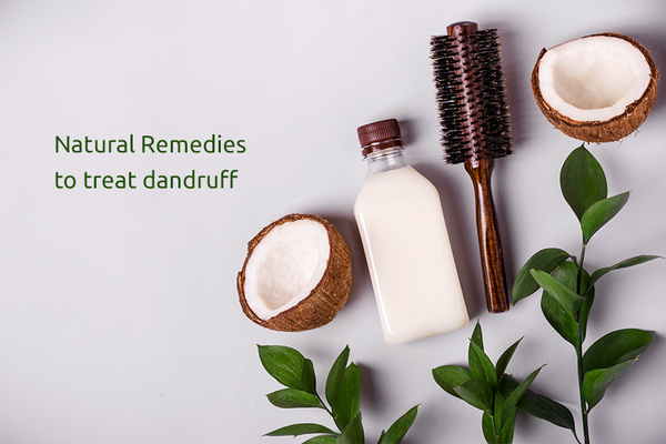 Natural Remedies To Treat Dandruff