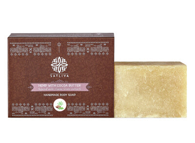 Hemp with Cocoa Butter Body Soap Bar - Moisturizes & promotes overall skin health