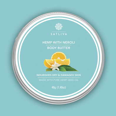 Hemp with Neroli Body Butter