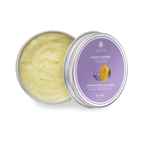 Mango Lavender  Face Cream - Controls wrinkles, dark spots & sun damage