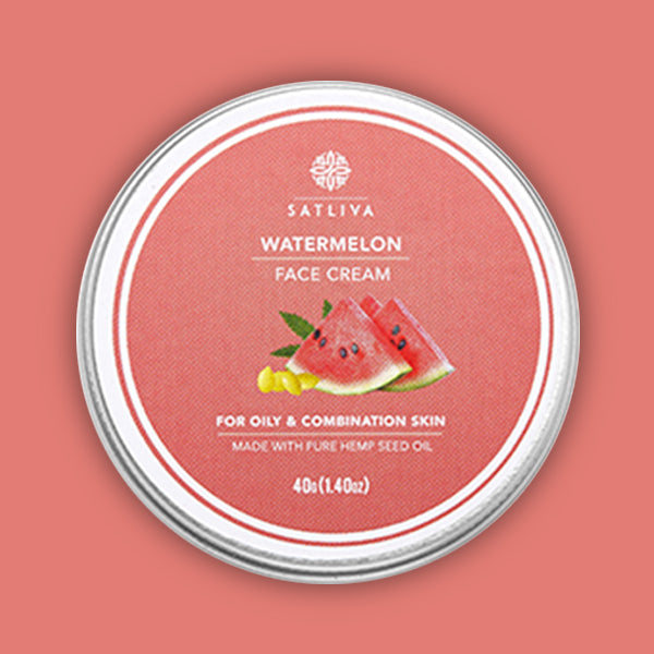 Watermelon Face Cream - Controls excessive oil, reduces acne, wrinkles & dark spots