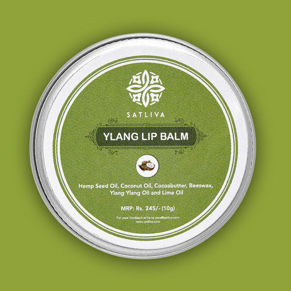 Ylang Lip Balm -  Helps in soothing dry, chapped lips & rejuvenates them