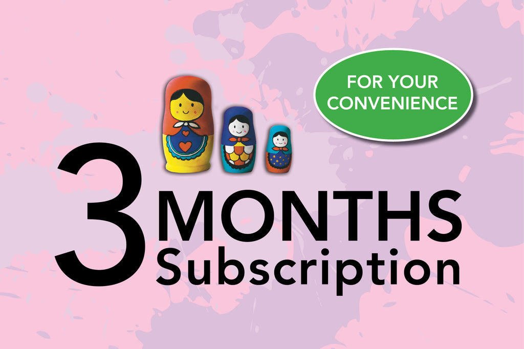 3 Months Subscription / $26 per month